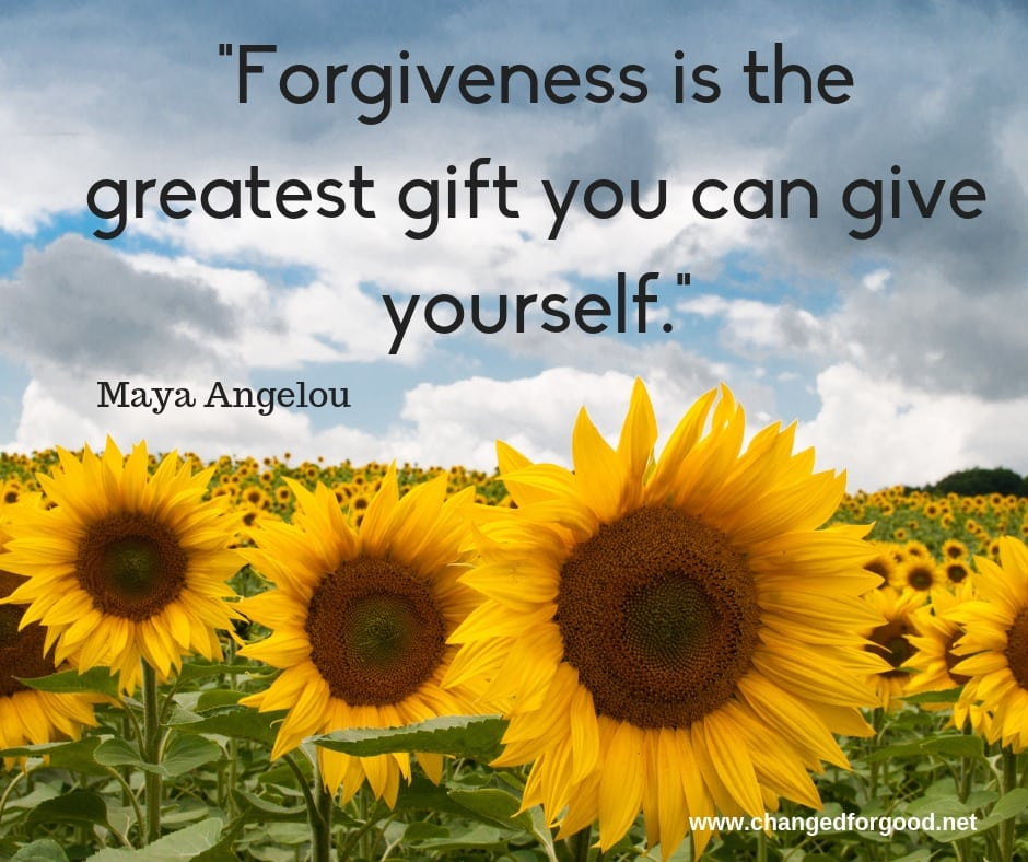 Forgiveness is the greatest gift you can give yourself